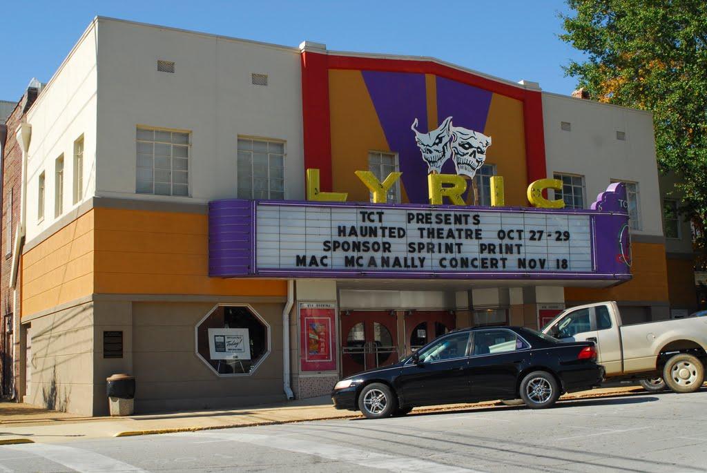 The Lyric Theater, Tupelo, Mississippi, Тупело