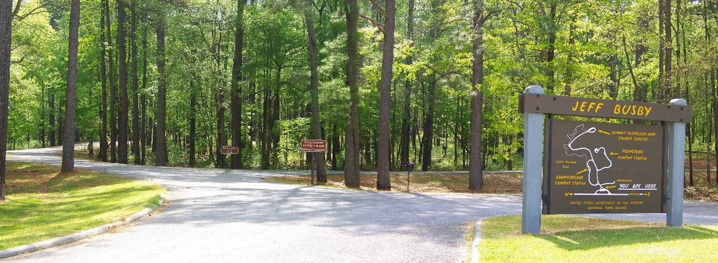 Natchez Trace -- Jeff Busby campground, Тутвилер