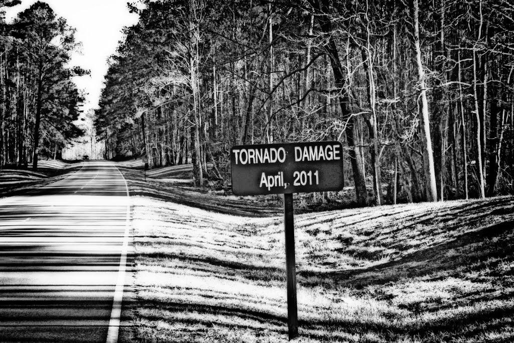 Natchez Trace 4/27/11 Tornado Damage, Тутвилер