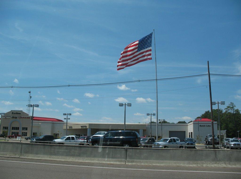 Jackson flag, Флаууд