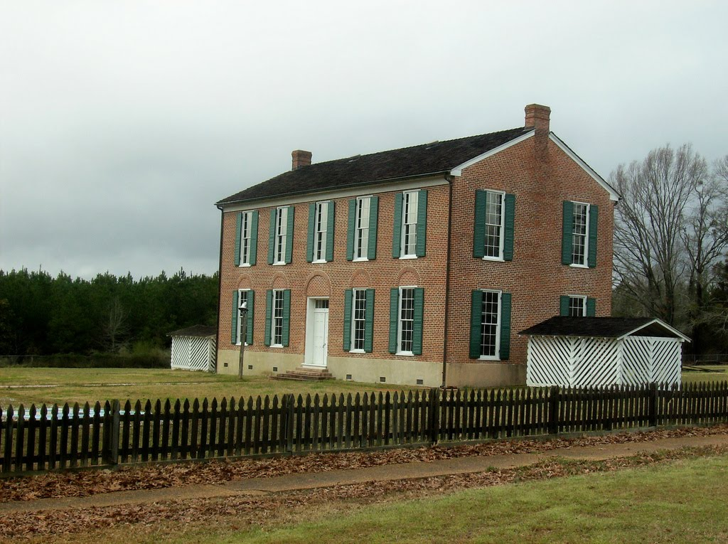 Little Red Schoolhouse, Richland, Holmes County, Mississippi, Флаууд