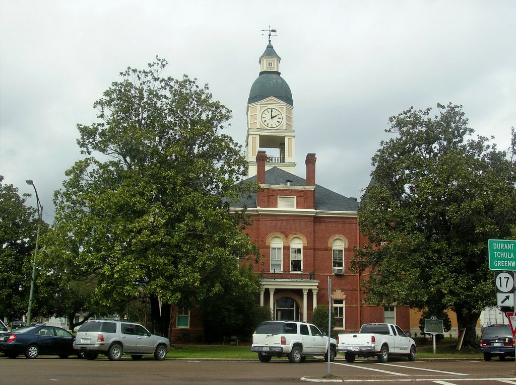 Holmes County Courthouse, Lexington, Mississippi, Флаууд