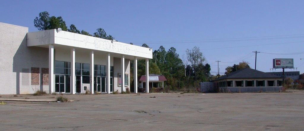 Ye ol 12-4 Cinema & PizzaHut--abandoned, alas..., Флаууд