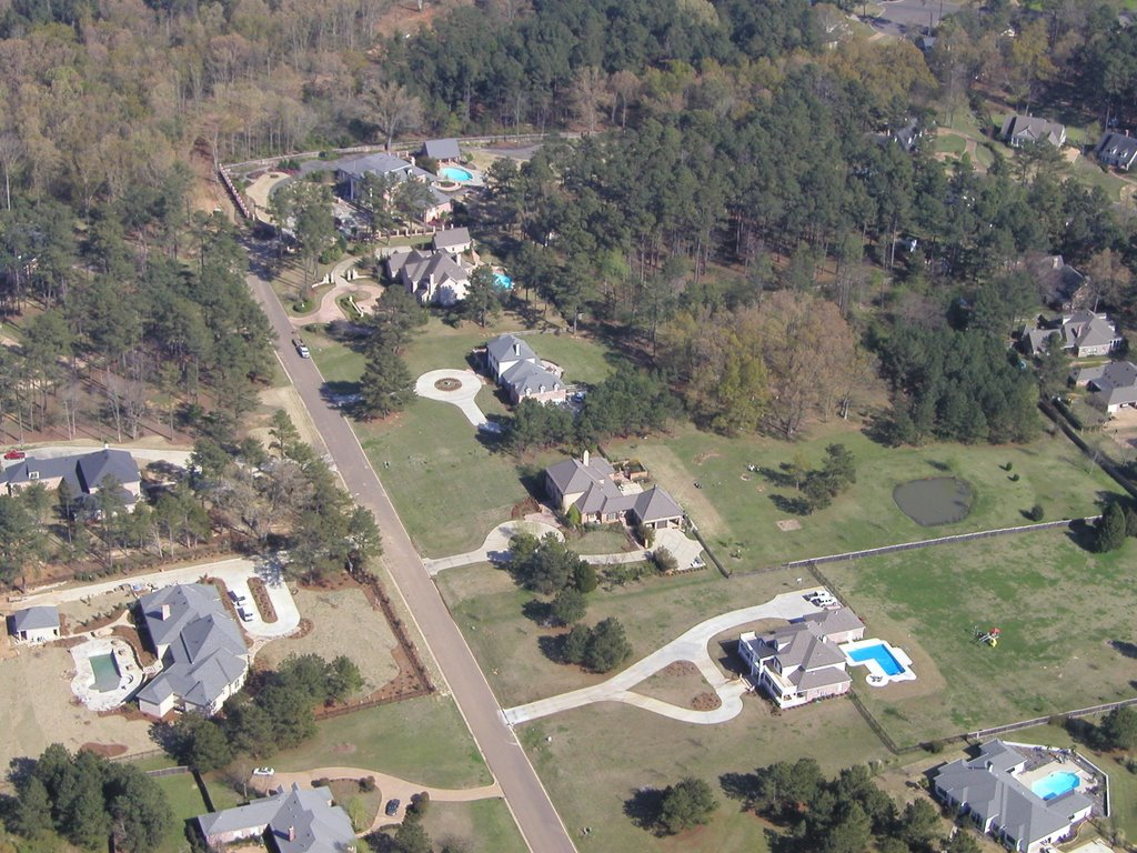 Chantilly Drive from the Air, Флоренк