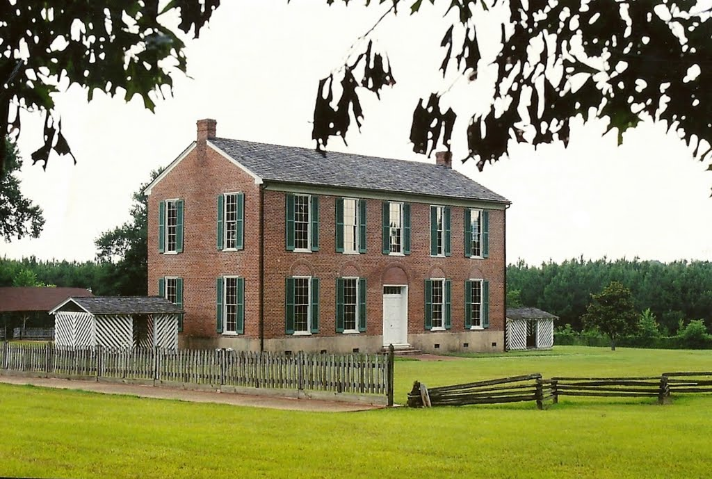 Historic Little Red School House (Holmes County, Mississippi Circa 1840s), Флоренк