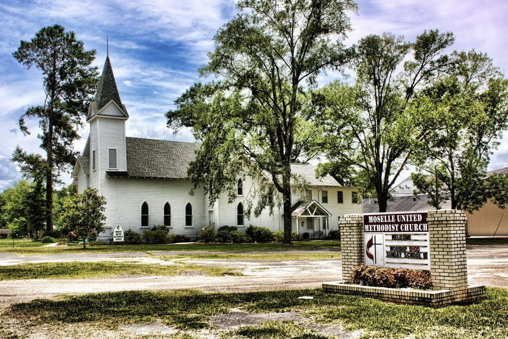 Moselle Methodist Church, Хармони