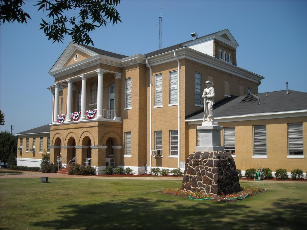 Choctaw County Courthouse at Butler, AL (built 1906), Хармони