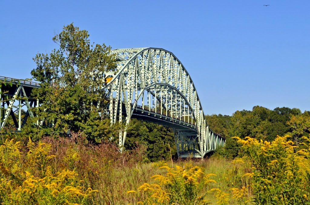 Jim Folsom Bridge at Coffeeville, AL, Хармони