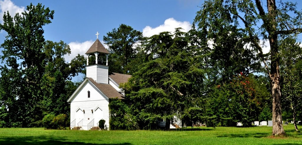 Saint Marks Episcopal Church at Boligee, AL (built 1854, listed on the Alabama Register of Landmarks and Heritage), Хармони
