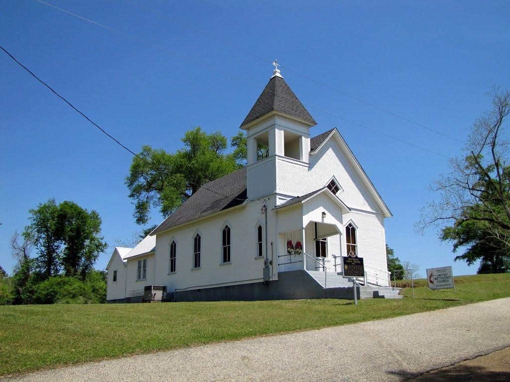 Fruitdale Union Chapel Church at Fruitdale, AL (built 1904), Хармони