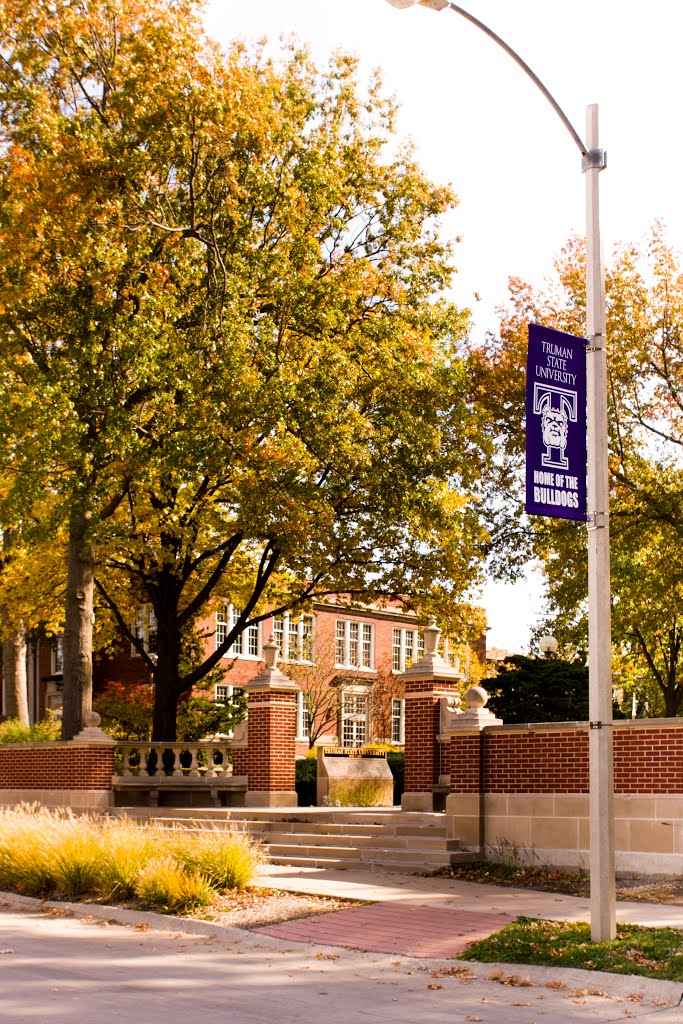 Truman State University North Entrance to Campus, Кирксвилл