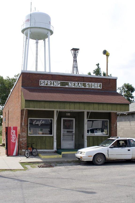 Spring General Store, Sharpsburg, Iowa, Олбани (Генри Кантри)