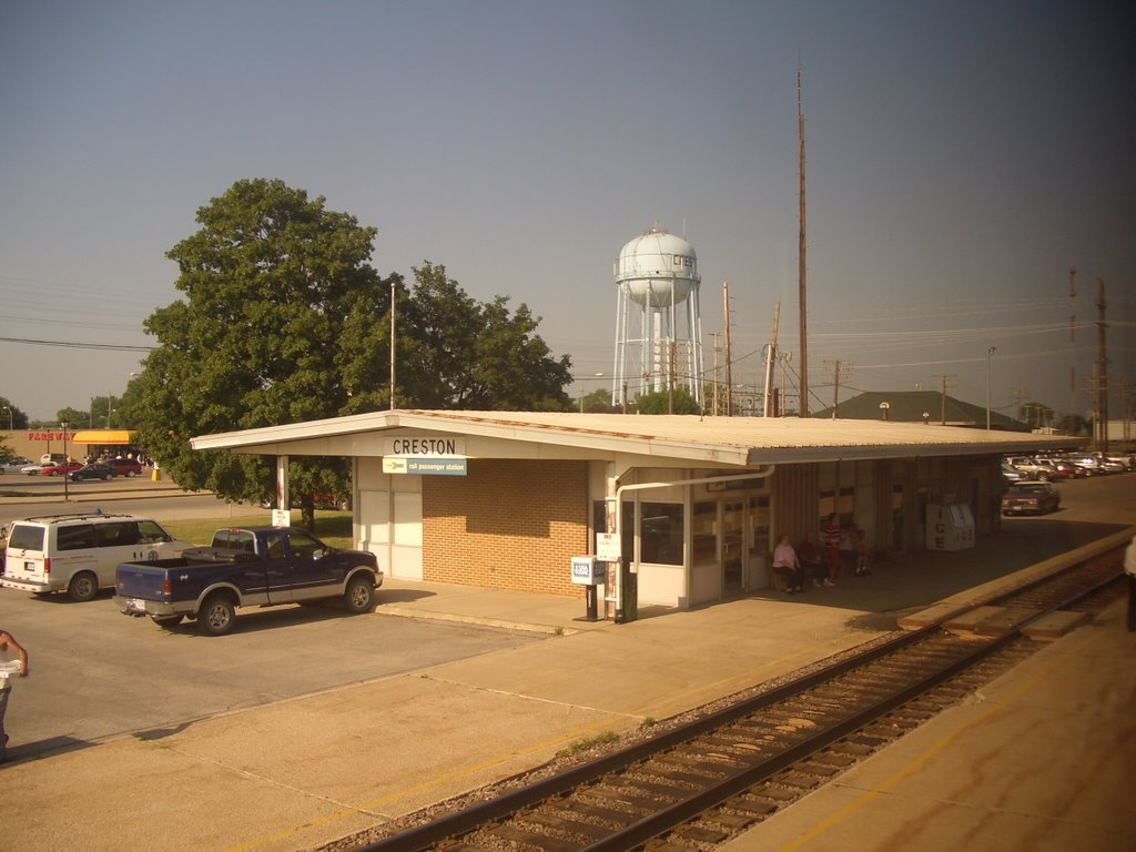 Amtrak Station - Creston, Iowa, Олбани (Генри Кантри)