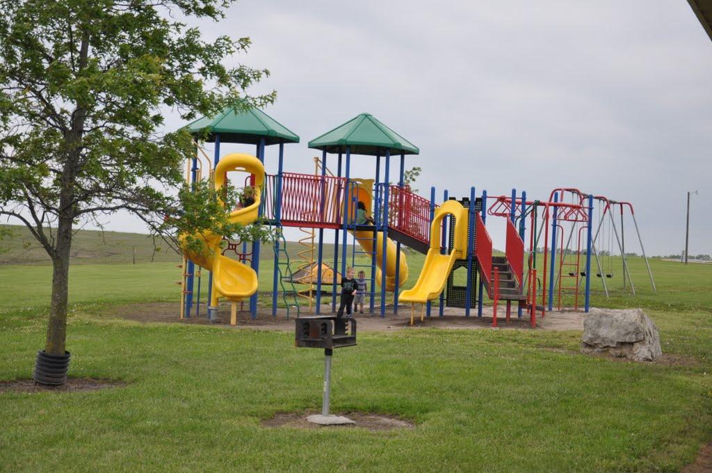 Play park at Zach Wheat Memorial Park, Олбани (Генри Кантри)