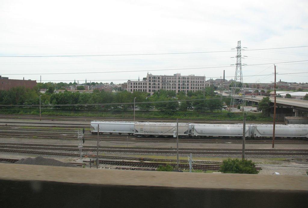 Train yard in St. Louis, Сент-Луис