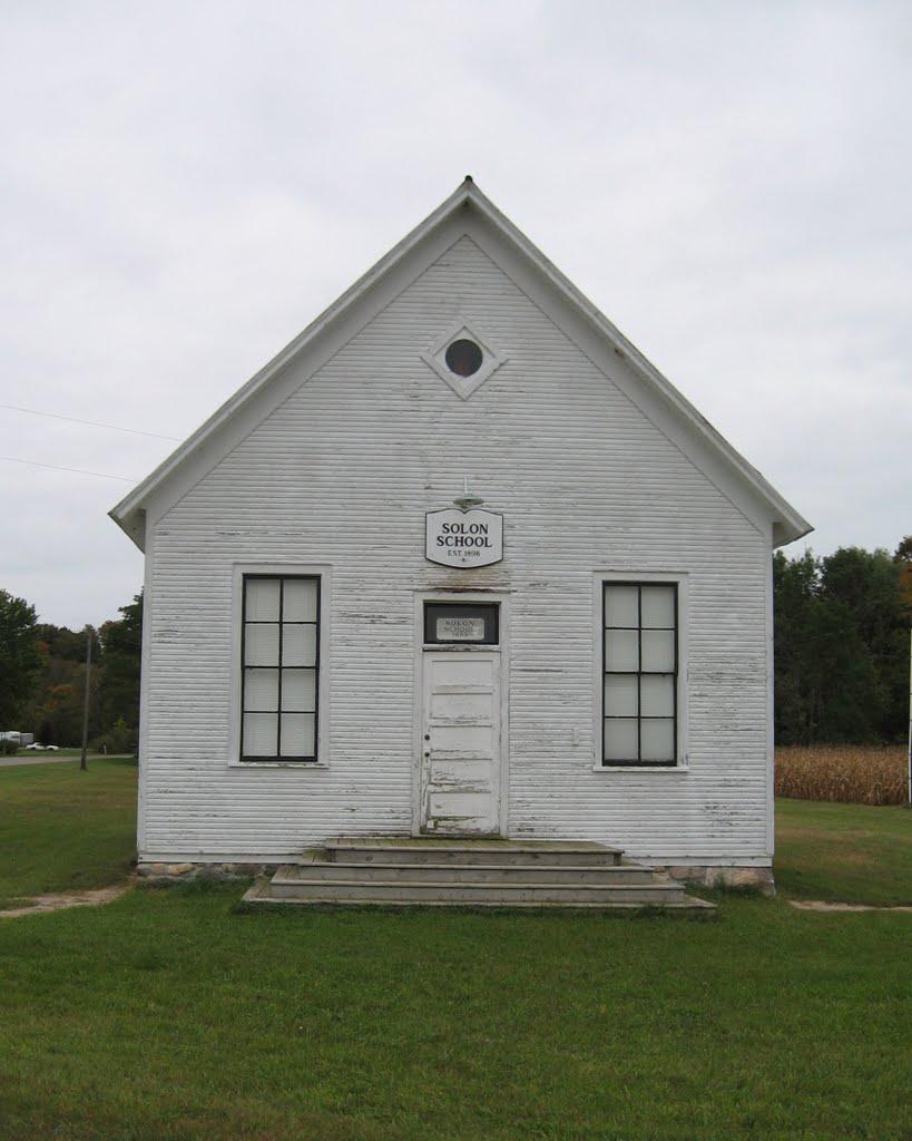 Old Solon Schoolhouse, Беллаир
