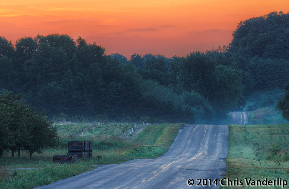 Eitzen Road at Dawn, Вэйкфилд