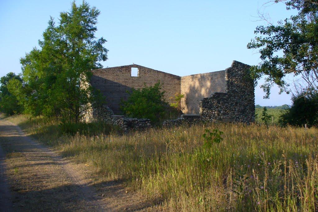 Remains of Old Potato Warehouse-2007, Вэйкфилд