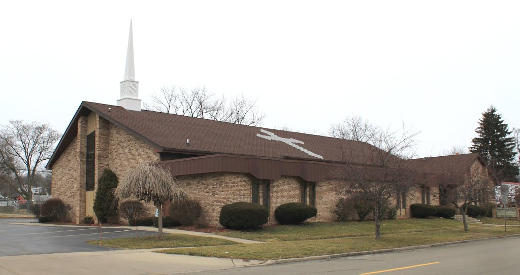 Mount Olive Church of God in Christ, 436 Hawkins Street, Ypsilanti, Michigan, Ипсиланти