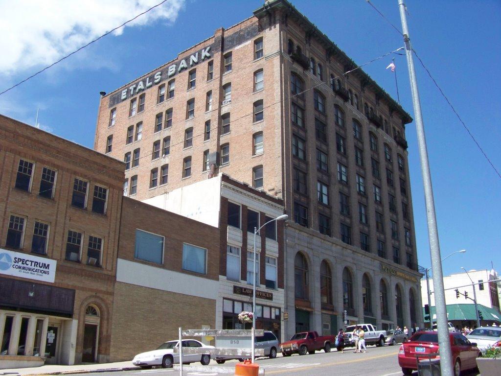Metals Bank Building, Butte, Montana, Бьютт