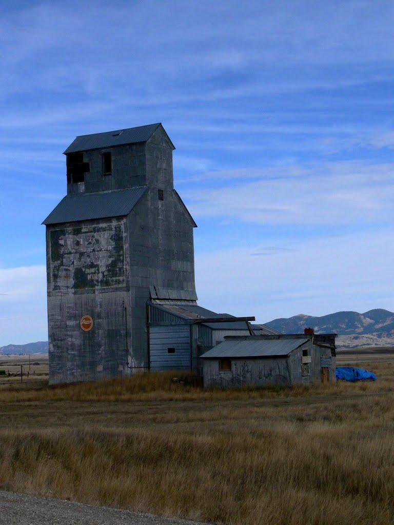 Grain elevator (Ross Fork, Montana), Грейт-Фоллс