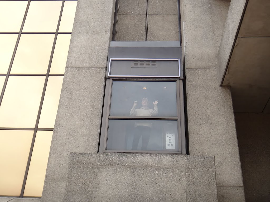Westport Plaza Scenic elevator outside, Бладенсбург