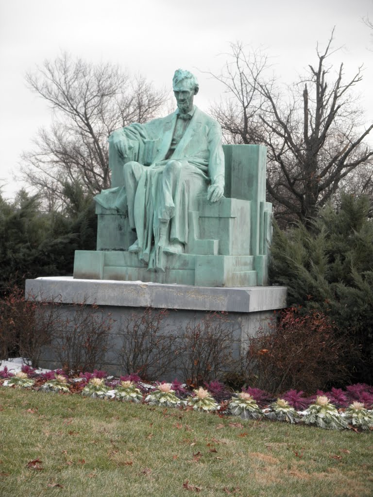 green Abraham Lincoln with cabbages, Коттедж-Сити