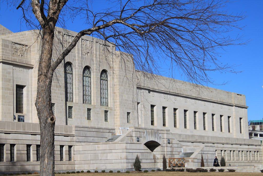 Nebraska State Capitol, East Side, Линкольн