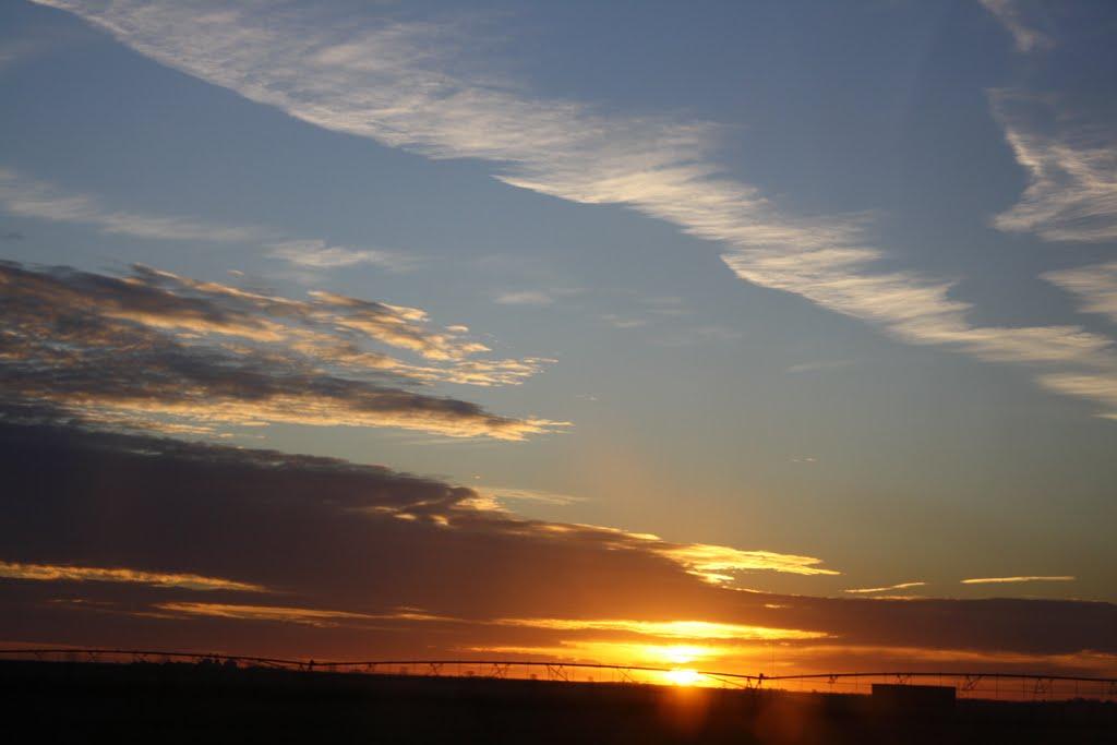 Nebraska sunset, Скоттсблуфф