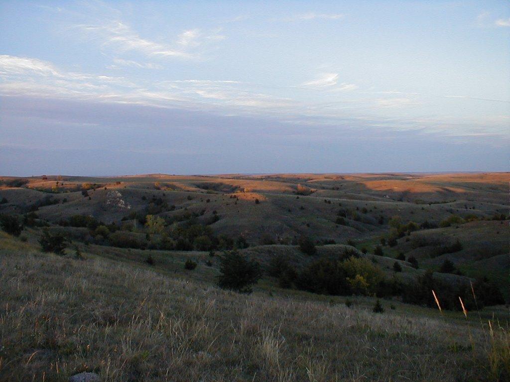NE View in Dry Valley, Custer Co, NE, Скоттсблуфф