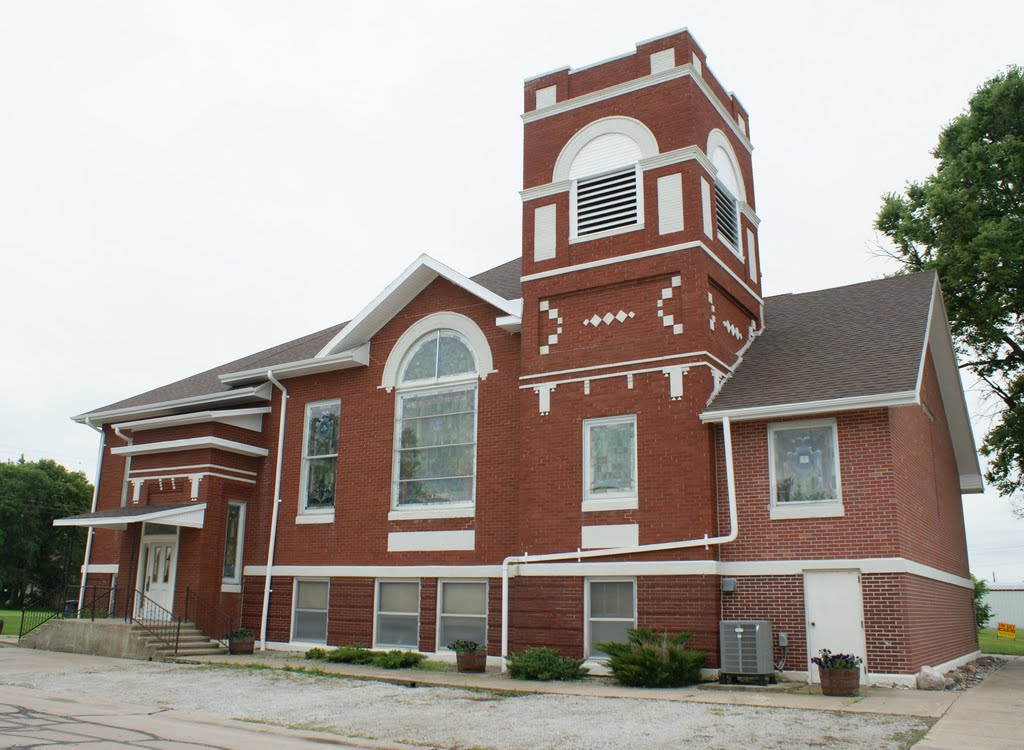Sargent, NE: United Methodist, Спрагуэ