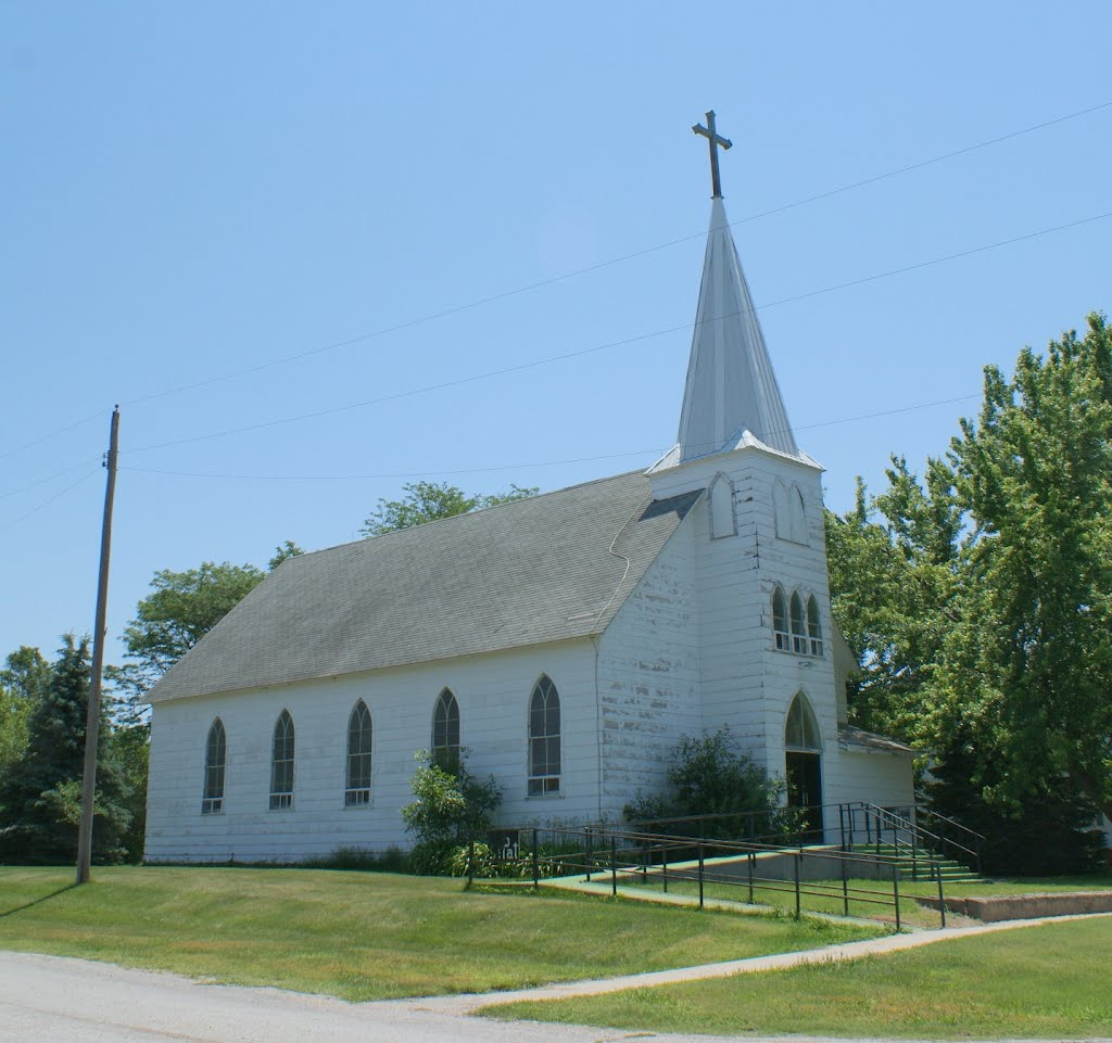 Eddyville, NE: St. Patricks Catholic, Спрагуэ