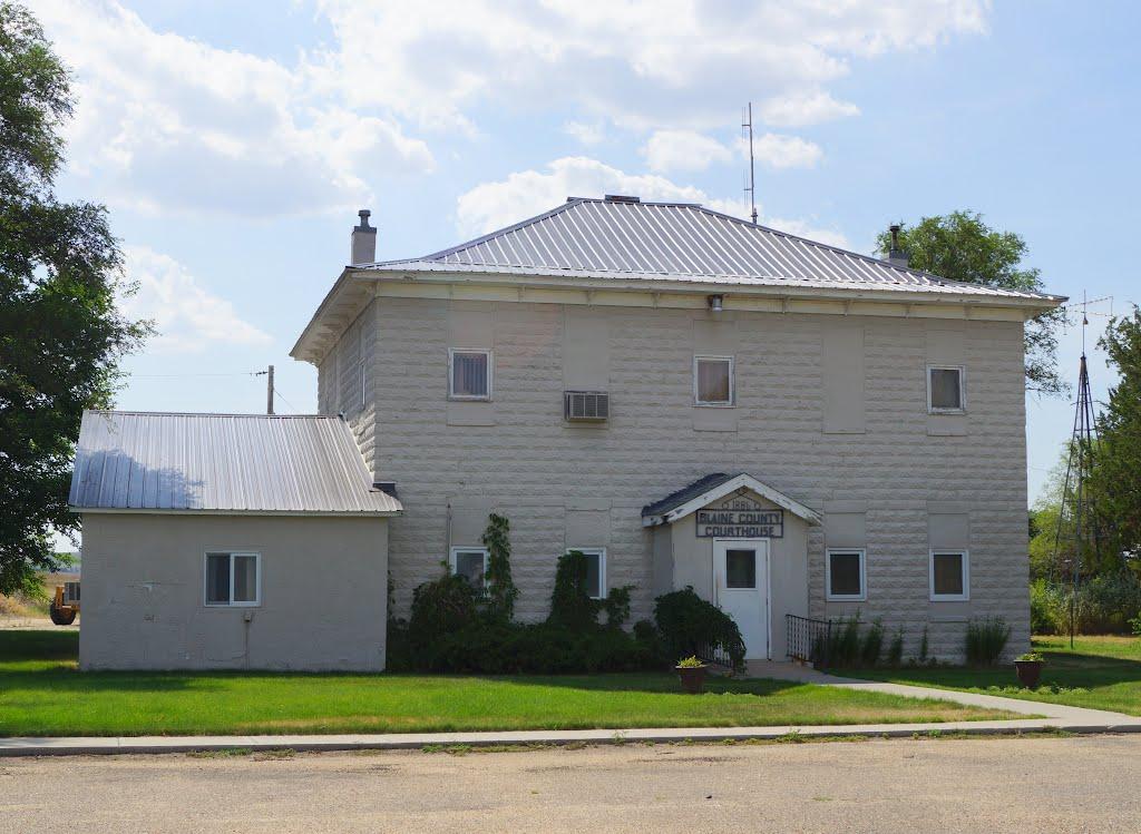 Brewster, NE: Blaine County Courthouse (2012), Спрагуэ