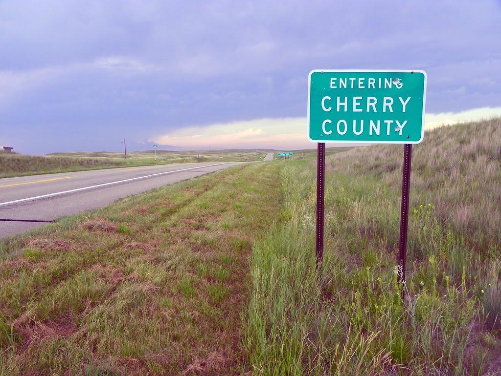 Entering Cherry County,  Nebraska, Спрагуэ