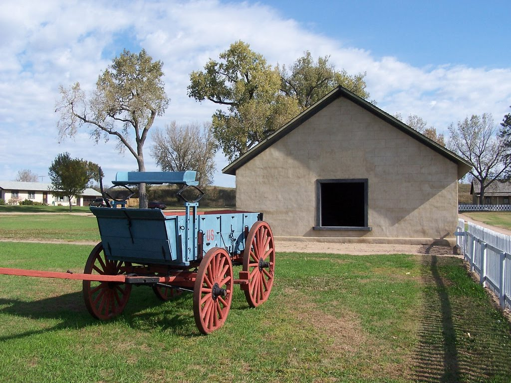 Fort Hartsuff State Historical Park, Valley County, Nebraska, Спрагуэ