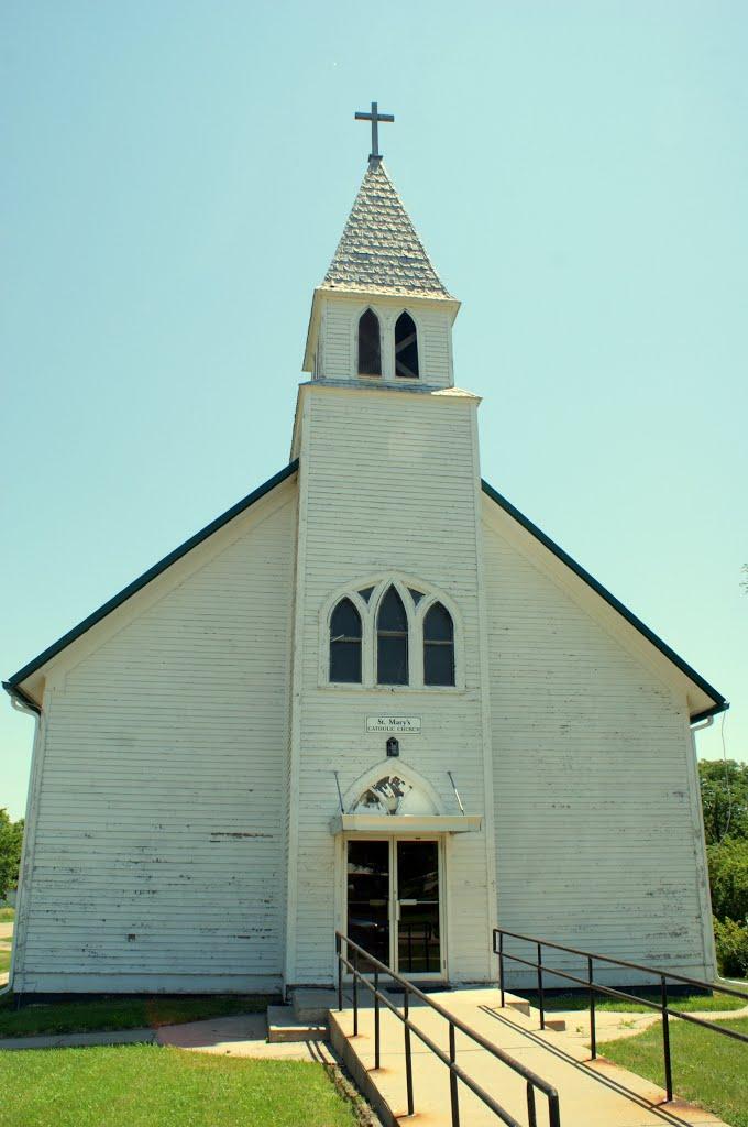 Oconto, NE: St. Marys Catholic, Спрагуэ
