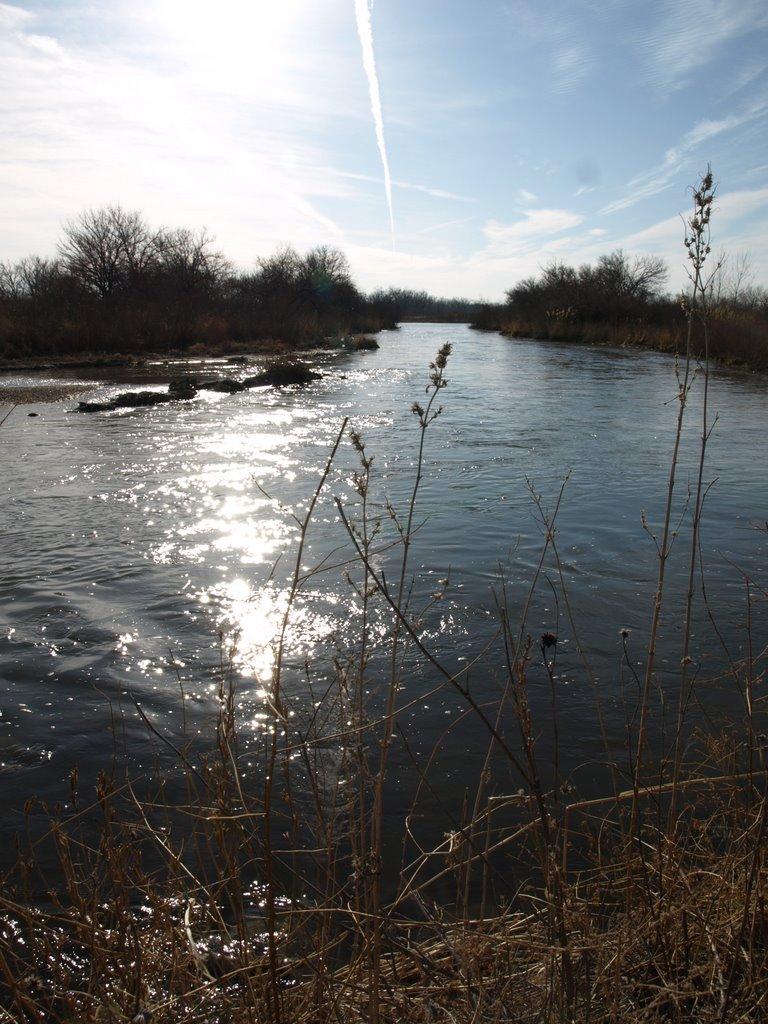 Platte River at HWY 183, Спрагуэ
