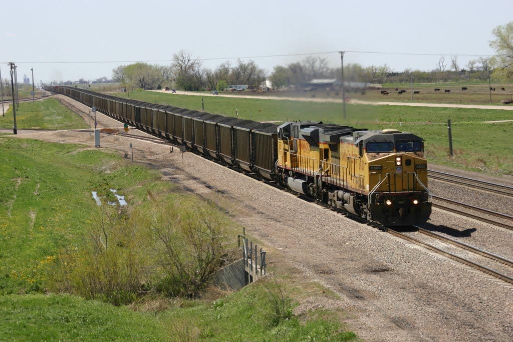 Coal on the Overland Route near Elm Creek, NE, Хастингс