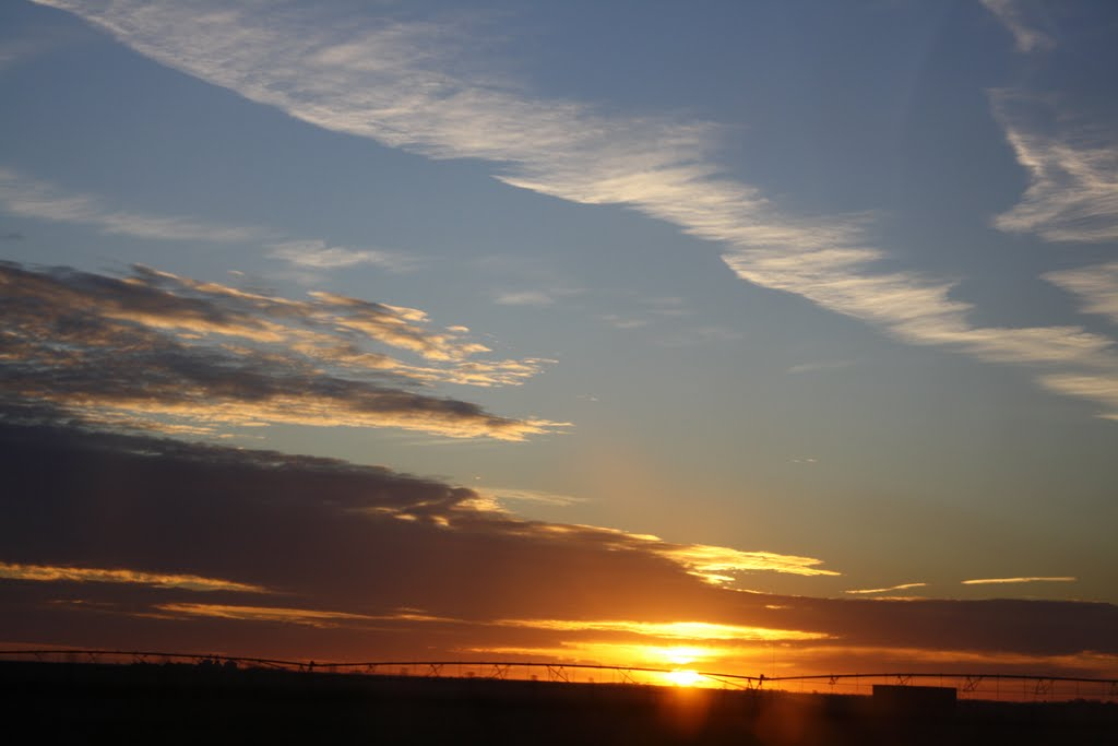 Nebraska sunset, Хастингс