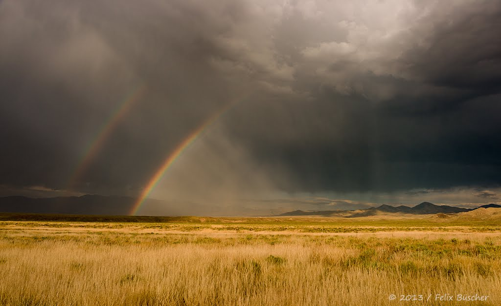 Unwetter in Nevada, Вегас-Крик