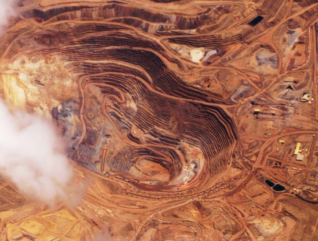 Round Mountain Gold Mine, NV, USA., Виннемукка