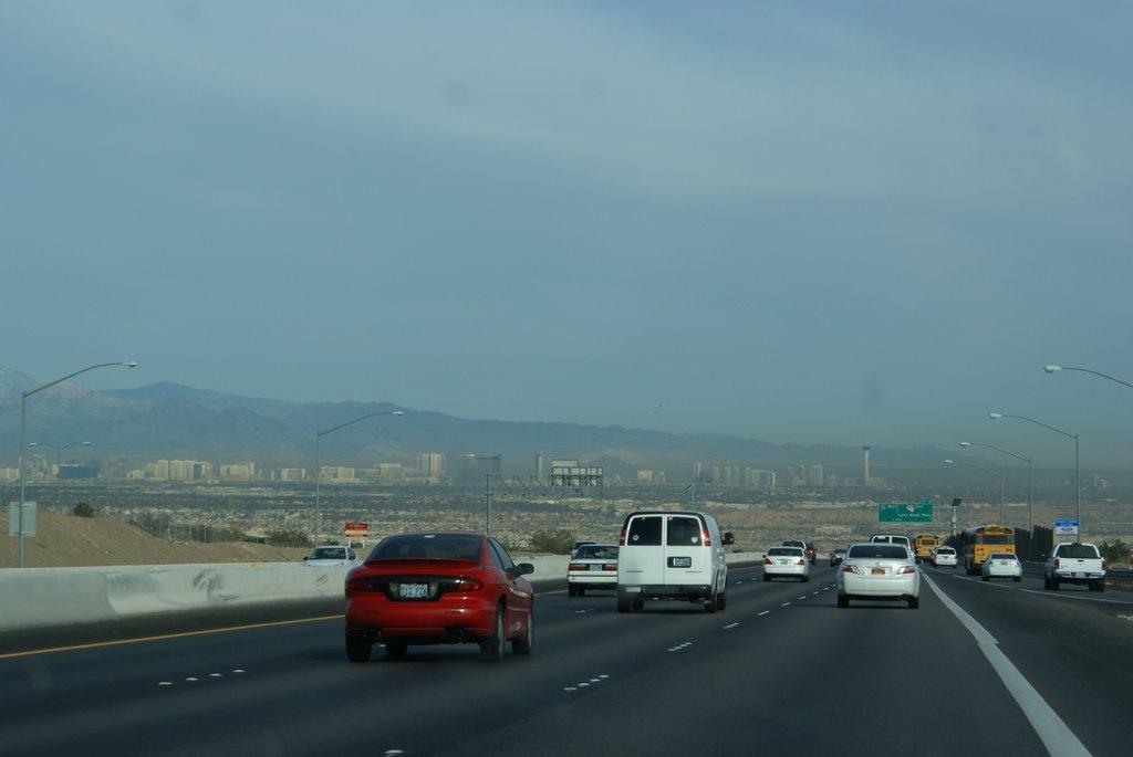 Driving to Las Vegas, Ист-Лас-Вегас