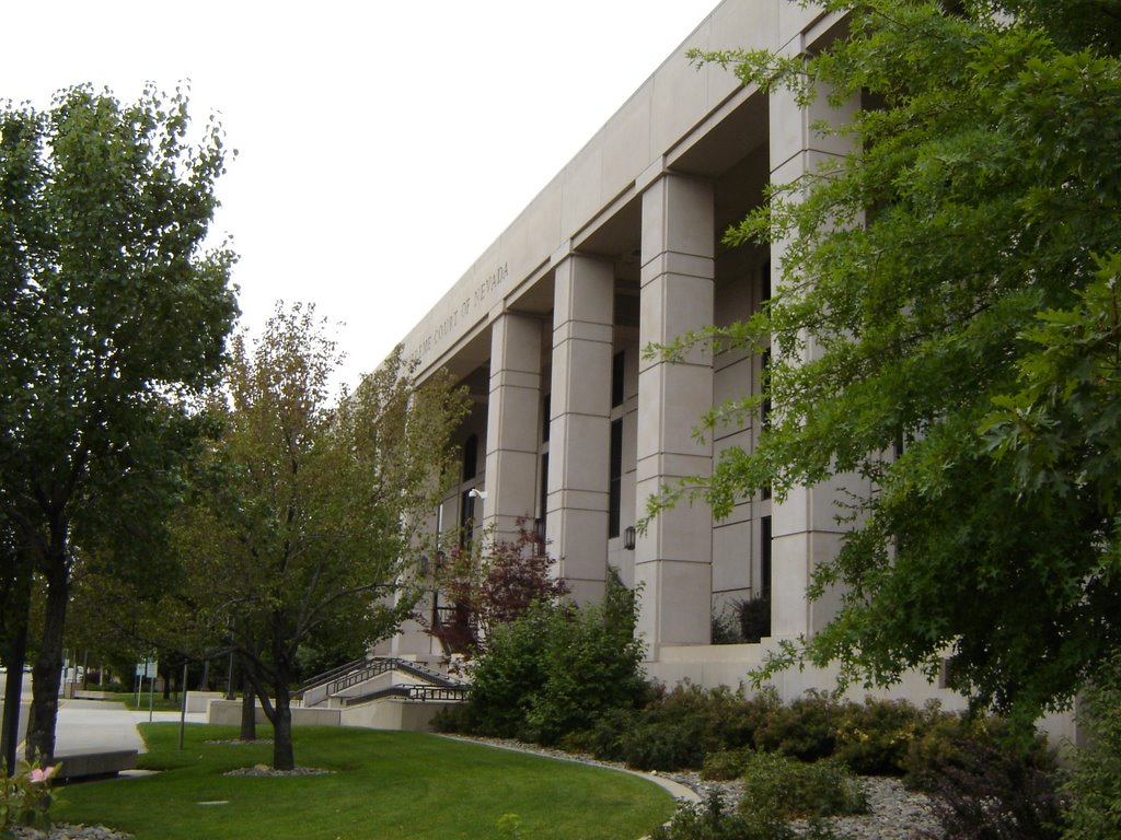 Nevada State Library Carson City NV, Карсон-Сити