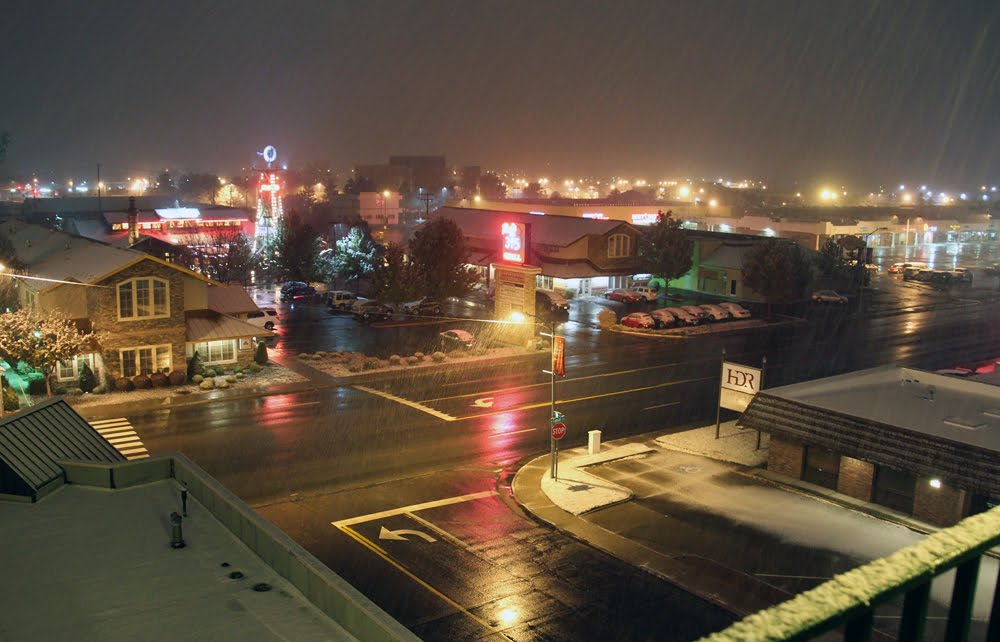 Snow rolls in, Карсон-Сити