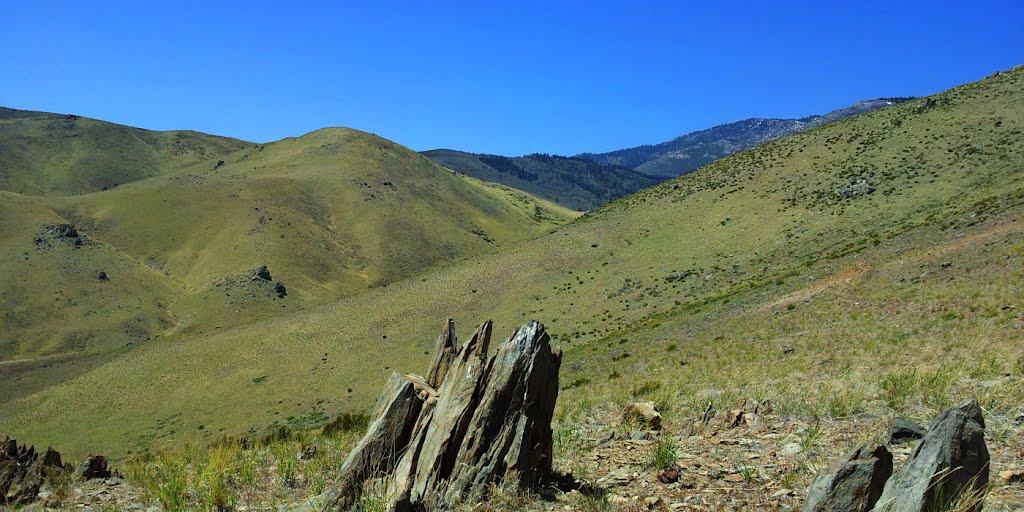 Near Landmark Hill, Looking West toward Kings Canyon, Карсон-Сити