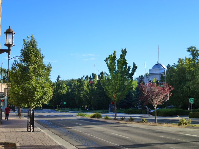 2012, Nevada Capitol Mall from S Carson Street, Карсон-Сити