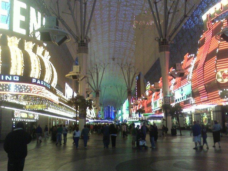 vegas downtown, Лас-Вегас