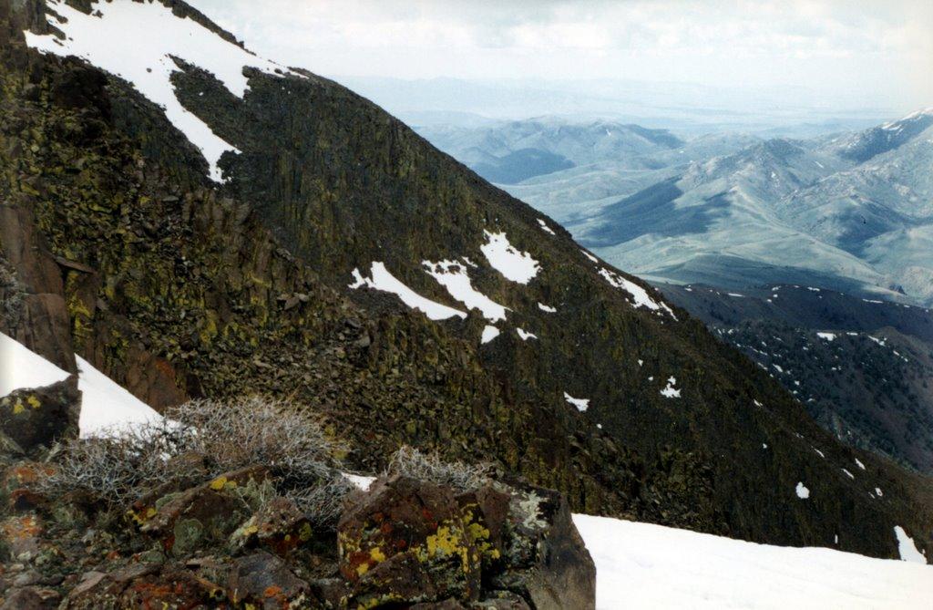 Cliffs of the Mt. Jefferson plateau, Ловелок