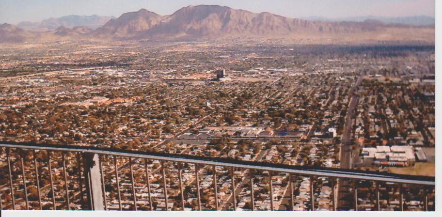 view across las vegas, Норт-Лас-Вегас