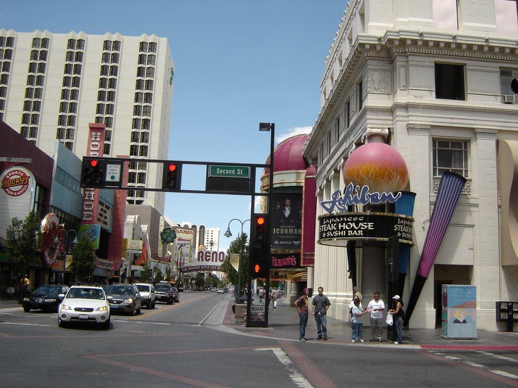 Second Street View Reno Nevada, Рино